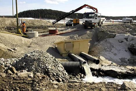 Talvivaaran kaivosyhtiöllä on tällä hetkellä noin 600 työntekijää.