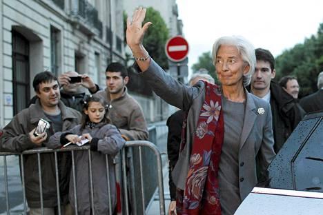Kansainvälisen valuuttarahaston johtaja Christine Lagarde.