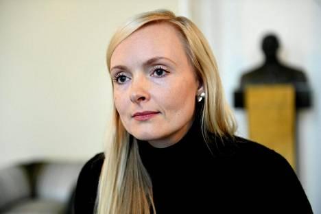 Sisäministeri Maria Ohisalo.
