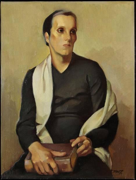 Martta Wendelinin teos  Seuroissakävijä vuodelta 1935.