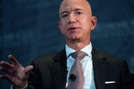 Amazonin perustaja ja toimitusjohtaja Jeff Bezos.