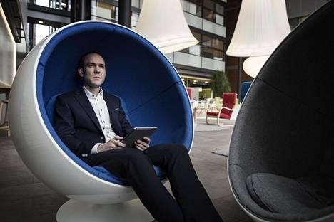 Nokian talous- ja rahoitusjohtaja Kristian Pullola.
