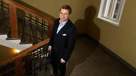 Helsingin yliopiston Eurooppa-tutkija Timo Miettinen Helsingissä toukokuussa.