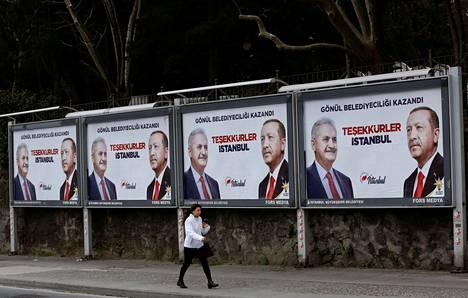 Istanbul on paitsi Turkin talouskeskus, myös presidentti Recep Tayyip Erdoğanin kotikaupunki.