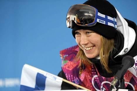Enni Rukajärvi jäi kuudenneksi vuoden 2015 lumilautailun X-Gamesin slopestylessä Yhdysvalloissa.