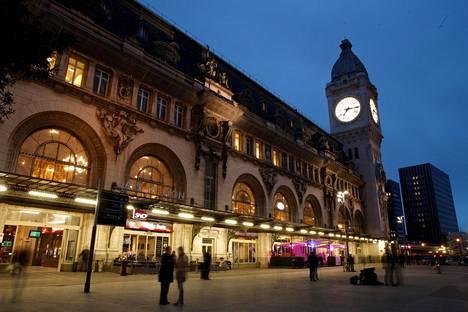 Gare de Lyonin rautatieasema Pariisissa. Kuva on vuodelta 2017.