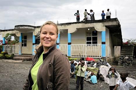 Marjo Mäenpää on Kirkon ulkomaanavun (KUA) maajohtaja Kongossa.