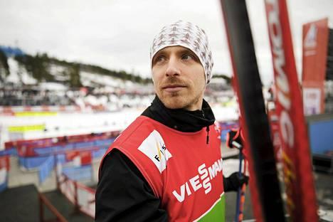 Tero Tiitu on käynyt Falunin MM-laduilla sekä ennen kisoja että niitten aikana.