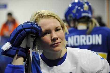 Emma Terho edusti Suomea viisi kertaa talviolympialaisten jääkiekossa.