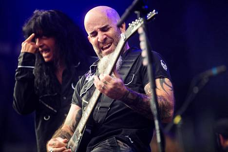 Anthrax esiintyi edellisen kerran Suomessa Tuska-festivaaleilla viime kesänä.