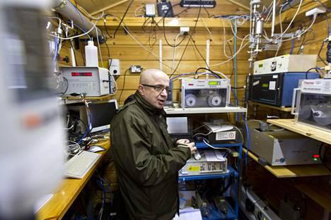 Professori Markku Kulmala haluaa Kiinaan samanlaisia ilmanlaadun mittausasemia, jollainen on esimerkiksi Hyytiälässä Juupajoella.