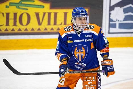 Tapparan Krisitian Kuusela on tehnyt tällä kaudella vasta kolme maalia, ja niistä yhden varsinaisella peliajalla.