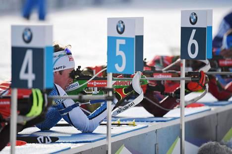 Tero Seppälän tähtäin ei ole ollut kohdallaan MM-kisoissa.