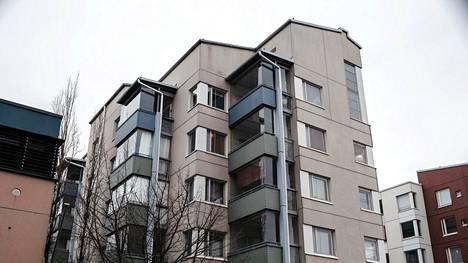 Helsingin kaupunki on omistanut Ruoholahden Harmajankatu 3:ssa useita hitas-asuntoja.