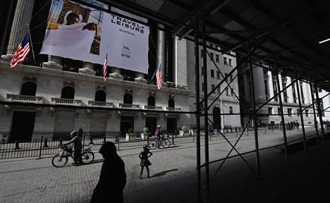 New Yorkin pörssitalo.
