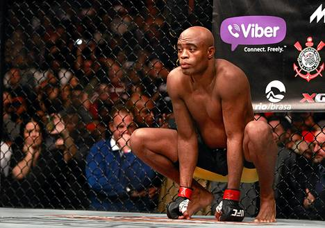 Anderson Silva jäi kiinni anabolisista steroideista.