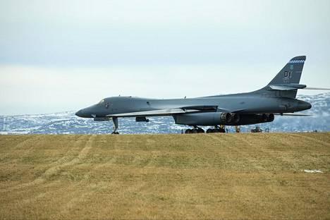 Yhdysvallat lennätti B-1 Lancer -pommikoneitaan Norjaan.