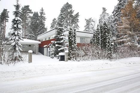 Suunniteltu perhekoti Yrjö Liipolan tiellä.