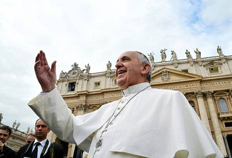 Paavi Franciscus valittiin Time-lehden vuoden henkilöksi.