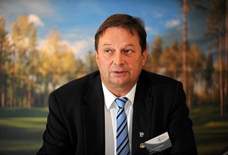 Golfliiton puheenjohtaja Antti Peltoniemi on FC Hongan uusi keulahahmo.