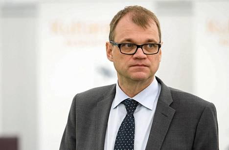 Pääministeri Sipilä lentää sunnuntaina Suuren valiokunnan kokouksen jälkeen Brysseliin EU:n huippukokoukseen..