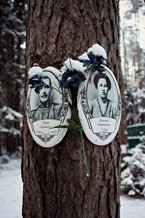Vainojen uhrien valokuvia.
