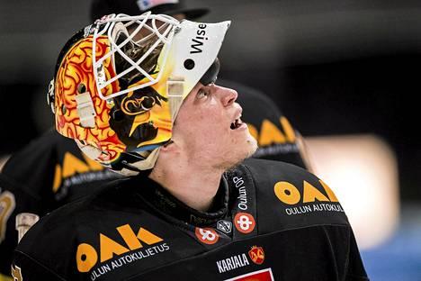 Viime kaudella Jussi Rynnäs pelasi SM-liigaa Oulun Kärpisssä.