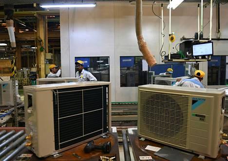 Intian ilmastointilaitemarkkinat kasvavat nopeasti.