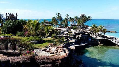 Peter Nygårdin residenssi Bahamalla vuonna 2015 kuvattuna.