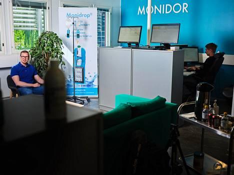 Monidorin toimitusjohtaja Mikko Savola yrittää viedä yhtiön tippalaskuria maailman sairaaloihin. Työ on vielä alussa.
