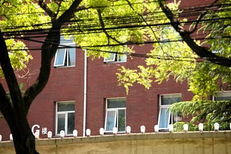 Pekingiläinen sairaala, jossa Chen Guangchengiä hoidetaan.