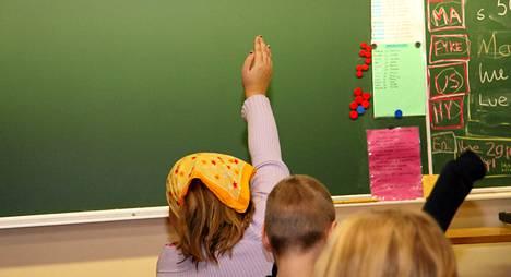 Perusopetuksen aloittaa tänä vuonna vajaa 60 000 lasta.
