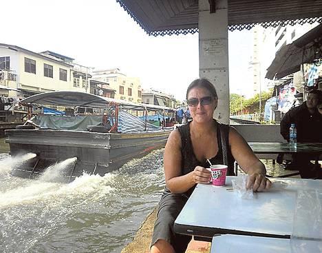 Bangkok tuli Tanja Parkkiselle tutuksi vuorotteluvapaan aikana.