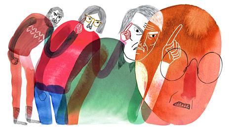 Lapsena koettu voimakas arvostelu voi näkyä aikuisena kriittisenä sisäisenä puheena.