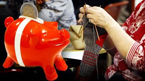 HS-eläkelaskuri antaa suuntaviivoja siitä, kuinka paljon yksityisellä puolella töissä olleet ovat eläkemaksuillaan maksaneet.