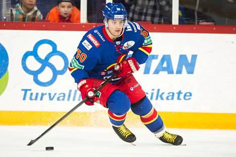 Juhamatti Aaltonen pelasi vuonna 2015 KHL:ää Jokereissa.