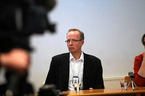 Venäjän pidättämä Suomen ympäristökeskuksen erikoistutkija Seppo Knuuttila kertoi kokemuksistaan Kingiseppissä.
