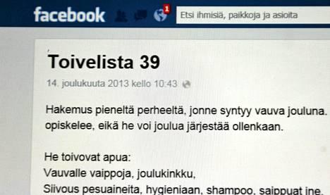 Facebooksivun yksityisviestin punainen huomiomerkki.