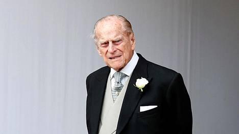 Prinssi Philip lokakuussa 2018.