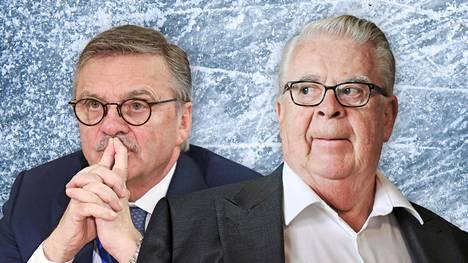 René Fasel ja Kalervo Kummola