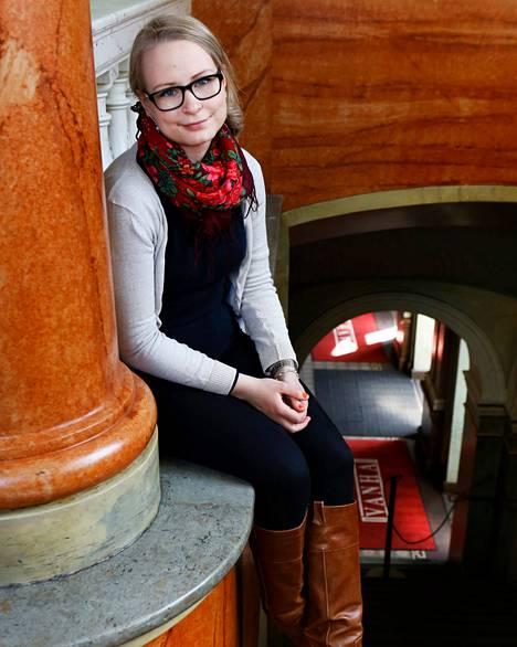 Kasvatustieteitä opiskelevaa Iiris Niinikoskea huolestuttaa enemmän alaikäisten kuin opiskelijoiden juominen.