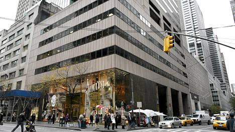 Manhattanin Fifth avenuen numerossa 650 sijaitseva talo rakennettiin 1970-luvulla.