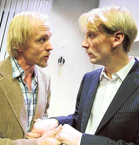 Sampo Sarkola ja Pekka Strang pohtivat muutakin kuin rahan arvoa.