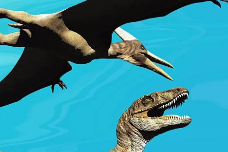 Linnut ovat menettäneet osan dinosaurusten piirteistä, muun muassa hampaat.