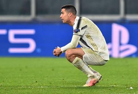 Cristiano Ronaldolla oli vaikeaa tiistaina Mestarien liigan neljännesvälierässä.