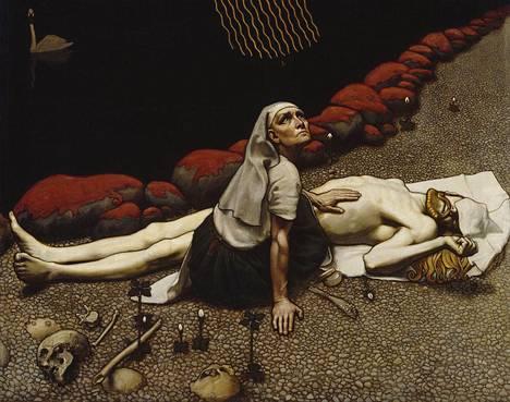Akseli Gallen-Kallela: Lemminkäisen äiti (1897)