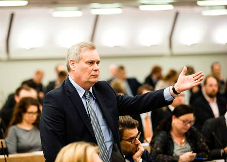Sdp:n puheenjohtaja Antti Rinne valittiin puolueensa johtoon toukokuussa 2014.
