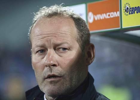 Danny Blindin pesti Hollannin päävalmentajana päättyi.