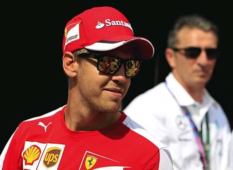 Sebastian Vettel vastasi James Allisonin kommentteihin omalla tavallaan.