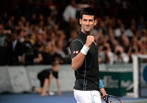 Novak Djokovic saavutti uuden merkkipaalun komealla urallaan.